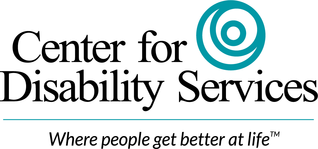Logo for Center for Disability Services.
