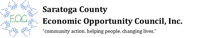 Logo for Saratoga County Economic Opportunity Council